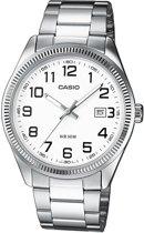 Casio MTP1302D-7BVEF - Horloge - 38.5 mm - Staal - Zilverkleurig