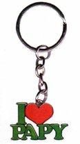 sleutelhanger I love papy
