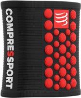 Compressport Sweatbands 3D Dots Black/Red Zweetband