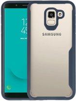 Focus Transparant Hard Cases Samsung Galaxy J6 Navy