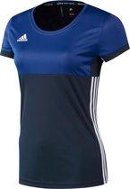 Adidas T16 Climacool Short Sleeve Tee Women Navy - Maat: xx-small