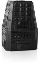 Nature - Compostbak -  PP - Zwart - Eenvoudig te Monteren - 800L