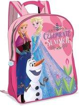 Disney Frozen Rugzak - Kinderen - Olaf Elsa Anna - Roze