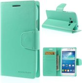 Goospery Sonata Leather hoesje Samsung Galaxy Core 4G G386F mint