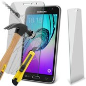 2 Stuks Pack Samsung Galaxy J3 2016 Doorzichtige Tempered glass Screenprotector