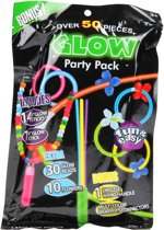 Party Pack Glow in the Dark, 50dlg.