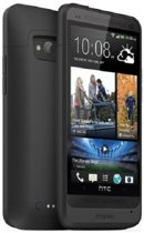 Mophie Juice Pack Portable battery case voor de HTC One  - Zwart