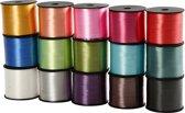 Cadeaulint, b: 10 mm, 15x50 m, diverse kleuren
