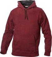 Carmel hooded sweat 280 g/m2 bordeaux m
