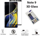3D Full Glass screenprotector  voor de Samsung Galaxy Note 9