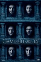 Game of Thrones serie Hall faces poster 61x91.5cm.