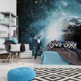 Fotobehang Ruimte 192x260 cm - makkelijk te plakken vliesbehang, hoge kwaliteit