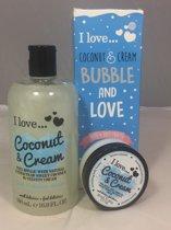 "Bubble and Love ""Coconut and Cream"""