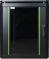 LOGON RDL12U68BL Vrijstaande rek 12U 600kg Zwart rack