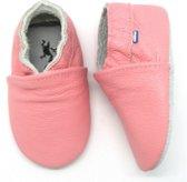 Stabifoot Babysoft babyslofjes uni roze