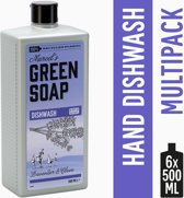 Marcel's Green Soap Afwasmiddel Lavendel & Kruidnagel - 6 x 500 ml