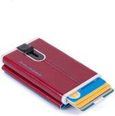 Piquadro Blue Square Cardprotector Plus rouge
