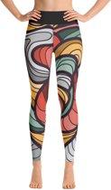 Relax - Dames Leggings - Yoga & Fitness - Hoge Taille - Sneldrogend  - Red Lion
