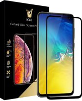 Samsung Galaxy S10e Screenprotector Glazen Gehard | Full Screen Cover Volledig Beeld | Tempered Glass van iCall