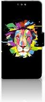 Nokia 8 Uniek Boekhoesje Lion Color