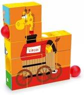 Scratch Preschool - Puzzel & Roller Coaster Circus - 16-delig