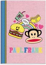 Schrift Paul Frank Girls burger A4 gelijnd