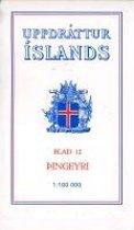 Topographische Karte Island 12 Pingeyri 1 : 100 000