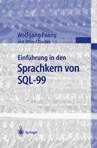 Einf hrung in Den Sprachkern Von Sql-99