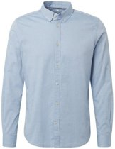 Tom Tailor - Heren Overhemd - Licht Blauw