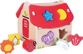 New Classic Toys - Vormenhuis - 8 vormen