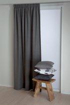 Okee! Kant en klaar gordijn Tweedo - Antraciet 140 x 270cm