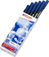 Edding 4200 Porseleinstift Staalblauw