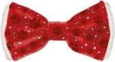 Kerststrik Hond/Kat - Dierenkleding - Rood - 6 x 1