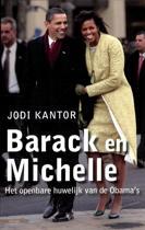 Omslag van 'Barack en Michelle'