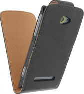 Xccess Leather Flip Case HTC Win. 8S bk