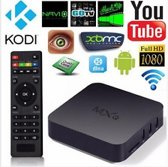 MXQ Box Android Full HD Quad Core 1 GB + Rii i8 Draadloos toetsenbord
