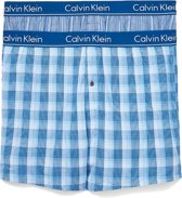 Calvin Klein - Heren 2-Pack Slim Fit Boxershorts Blauw - XL
