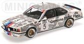 635 CSi BMW Belgium #5 Winner Spa 24H 1985 - 1:18 - BMW