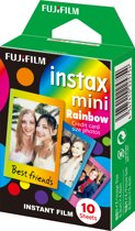 Fujifilm Instax Mini Colorfilm Rainbow - 10 stuks