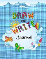 Blue Draw and Write Journal for Kids