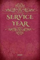 Service Year 2020: - Jehovah's Witnesses Gift Service Year Planner / Diary for Jehovah's Witnesses. Perfect for the Field Service Ministr