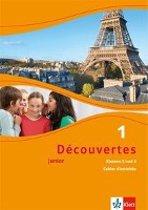 Découvertes Junior 1. Cahier d'activités mit MP3-CD und Video-DVD