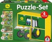 Puzzle set John Deere