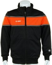 Jako Trainings Jacket Player Junior - Sportshirt - Kinderen - Maat 164 - Black;Orange