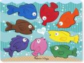 Melissa & Doug Chunky Colourful Fish Puzzel 8-delig