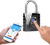 Biometrische Smart Lock, APP mobiele telefoon Bluetooth vingerafdruk hangslot, monitoring en positionering Logistiek hang slot