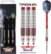 Bull's Typhoon 90% 24 gram Steeltip Dartpijlen