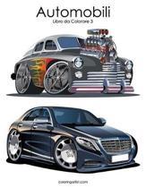 Automobili Libro Da Colorare 3