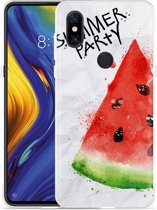 Xiaomi Mi Mix 3 Hoesje Watermeloen Party