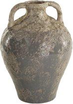 Antieke Kruik Marino Grijs Geglazuurd, 29cm